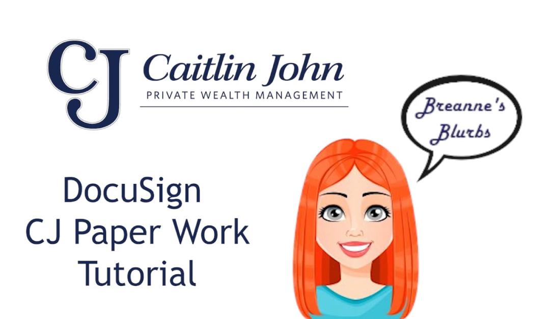 Caitlin John Tutorial Video